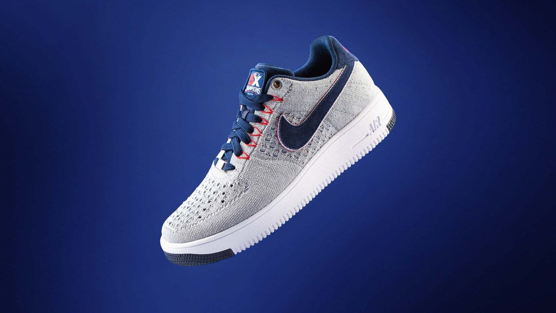 promo code 483bb fd0fa The Patriots Get Their Very Own Colorway of the Air Force 1 Ultra ...
