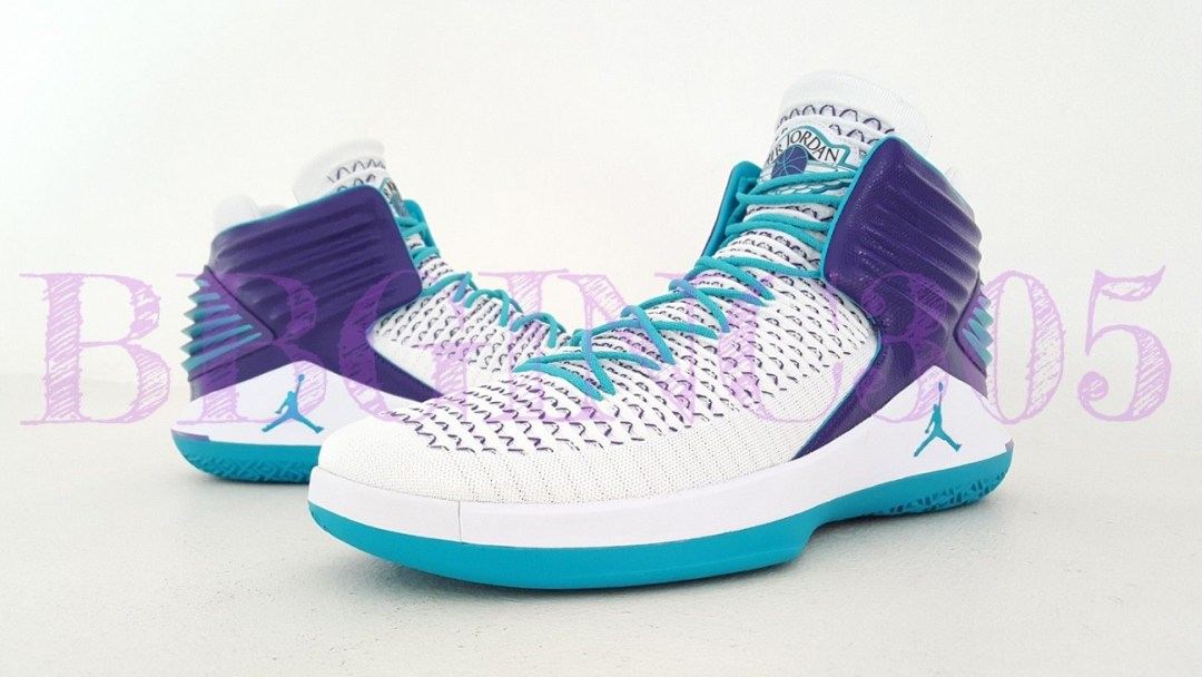 172bdd7fb8dd Another Charlotte Hornets Air Jordan 32 PE Lands on eBay - WearTesters