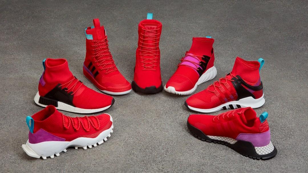 74677e34f adidas Originals Unveils Winter Scarlet Shock Purple Pack Including ...