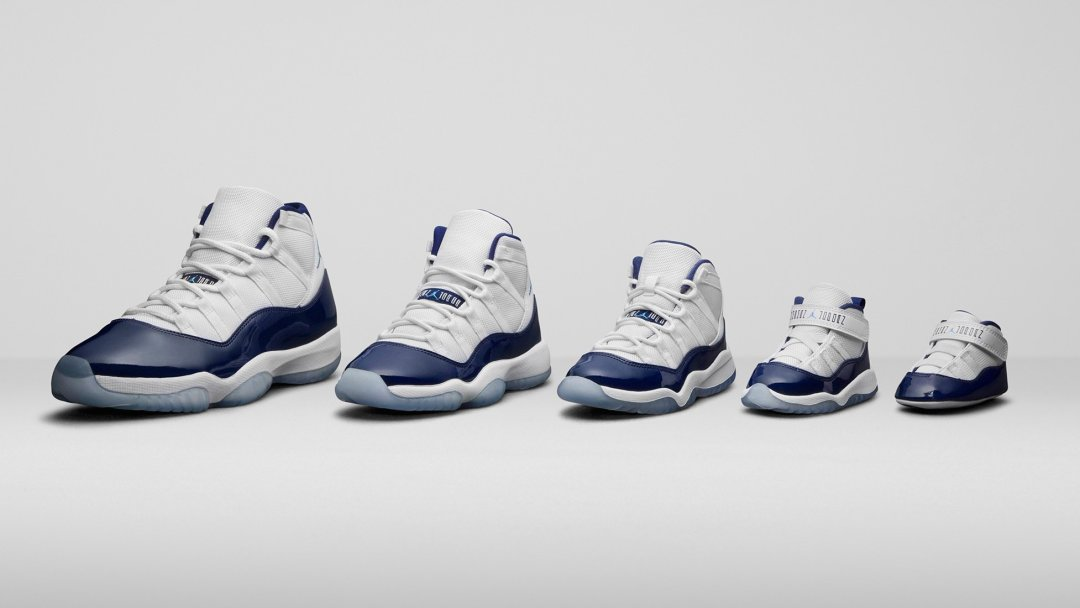 e5b439b1670efe The Air Jordan 11  Win Like  82  Will Release in Full Family Sizing ...