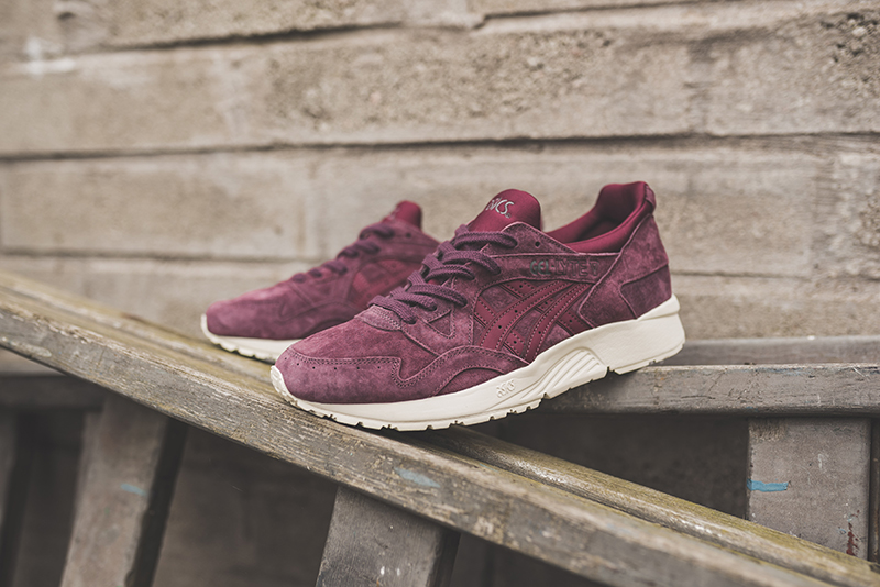 buy popular 82c58 9e3e6 asics gel-lyte v eggplant 1 - WearTesters