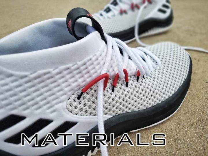 promo code 919a9 c33db adidas dame 4 performance review materials duke4005