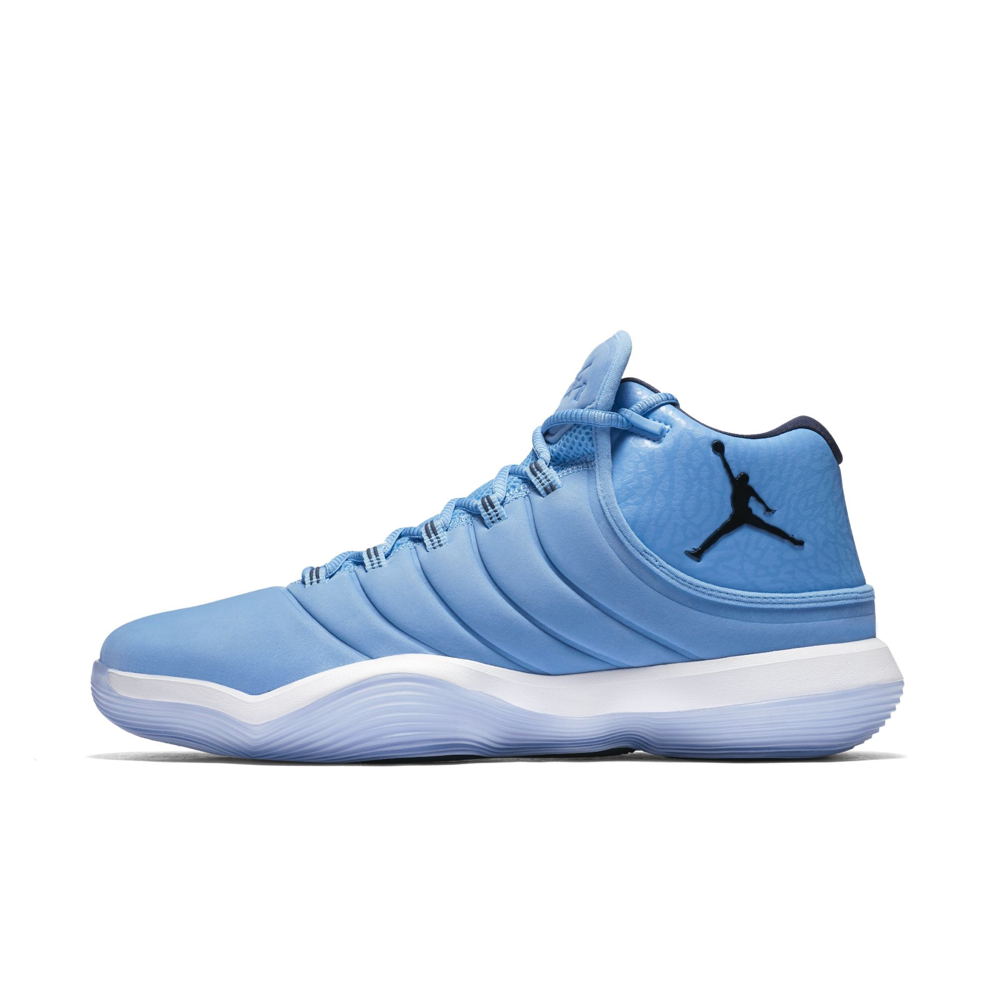 d2e805288937 The Jordan Super.Fly 2017 Shows Itself in This UNC-Friendly Colorway ...
