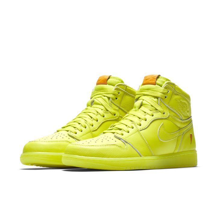 the latest fd5e2 d2055 The Gatorade x Air Jordan 1 Retro High Goes Lemon-Lime - WearTesters