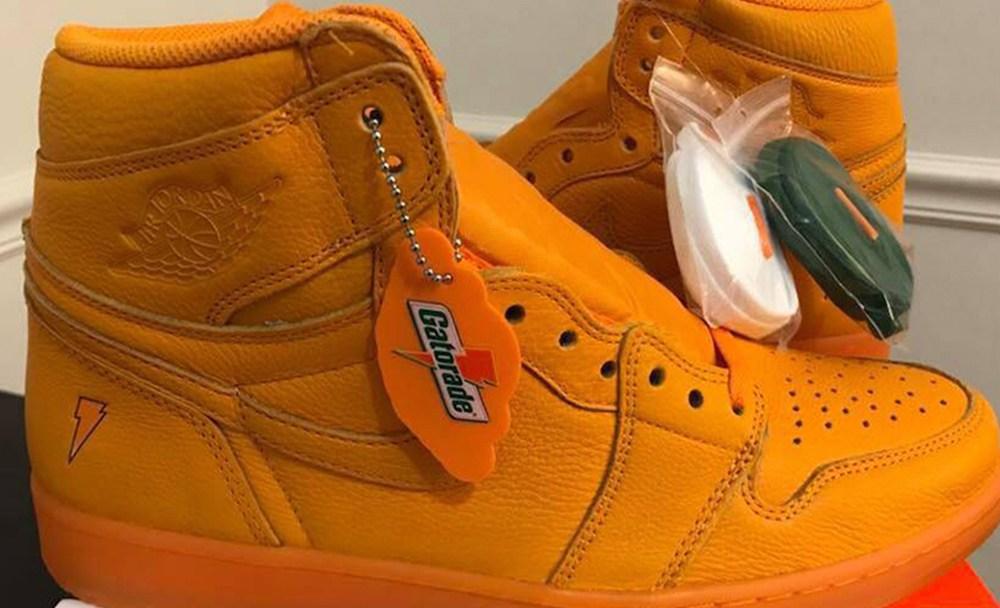 Air Jordan 1 Gatorade Orange L 1