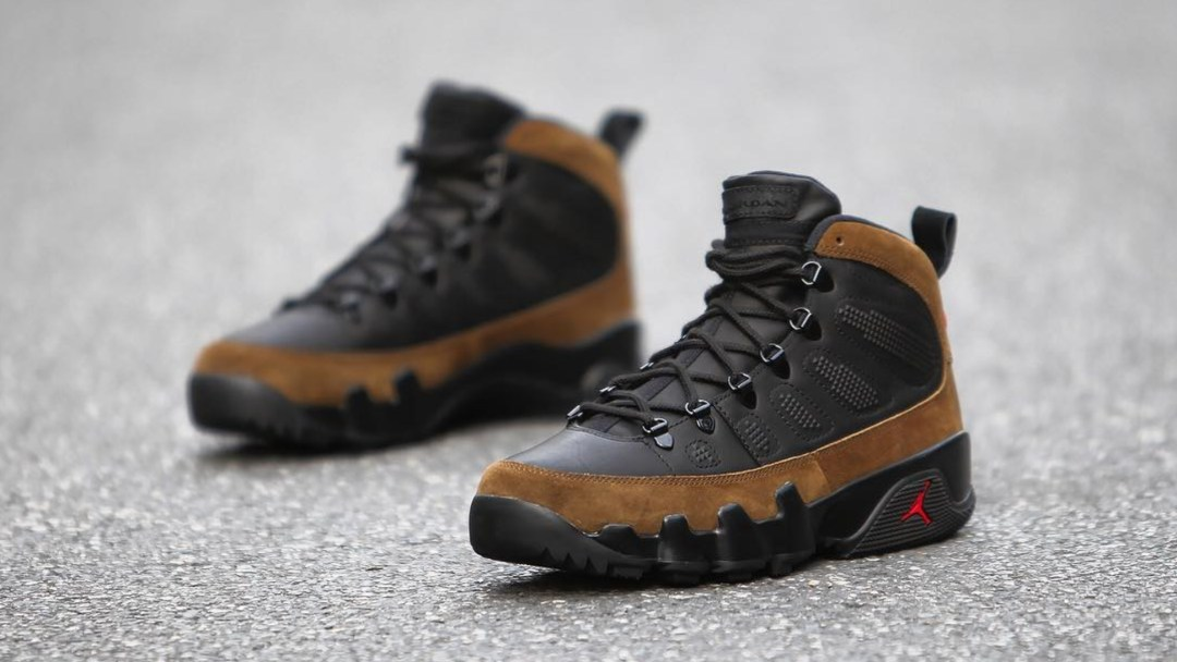720032c04cb0f1 Up Close and Personal with the Winterized Air Jordan 9 NRG Boot ...