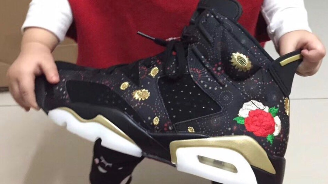 0941d5b547e5 First Look at the Air Jordan 6 Retro  Chinese New Year  - WearTesters