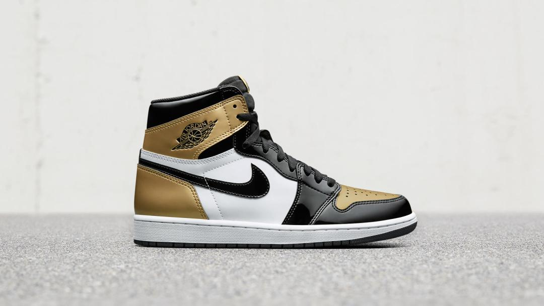 5bf8af546c85e3 The Air Jordan 1 Top 3 Gold Releases on Cyber Monday at These ...