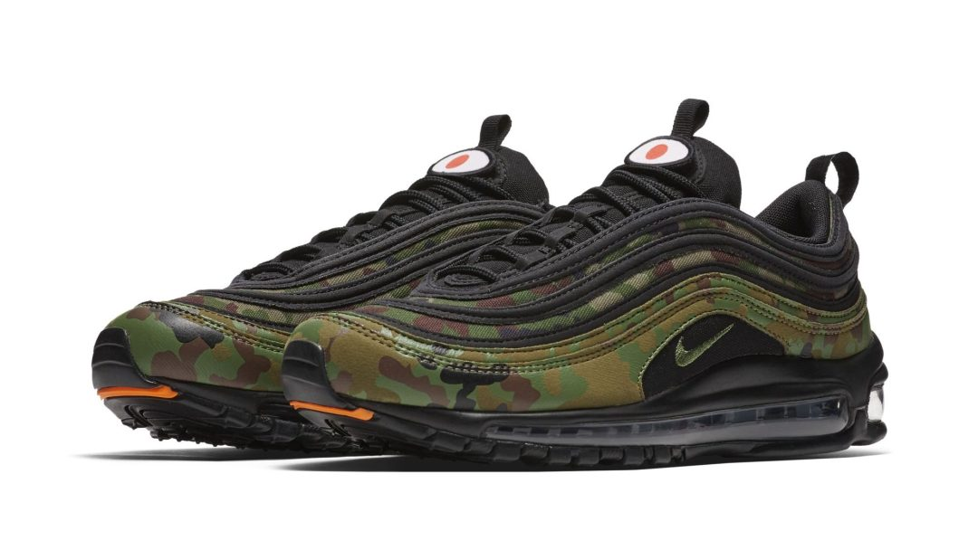 best loved 185c6 7e1dc nike air max 97 country camo pack japan 2
