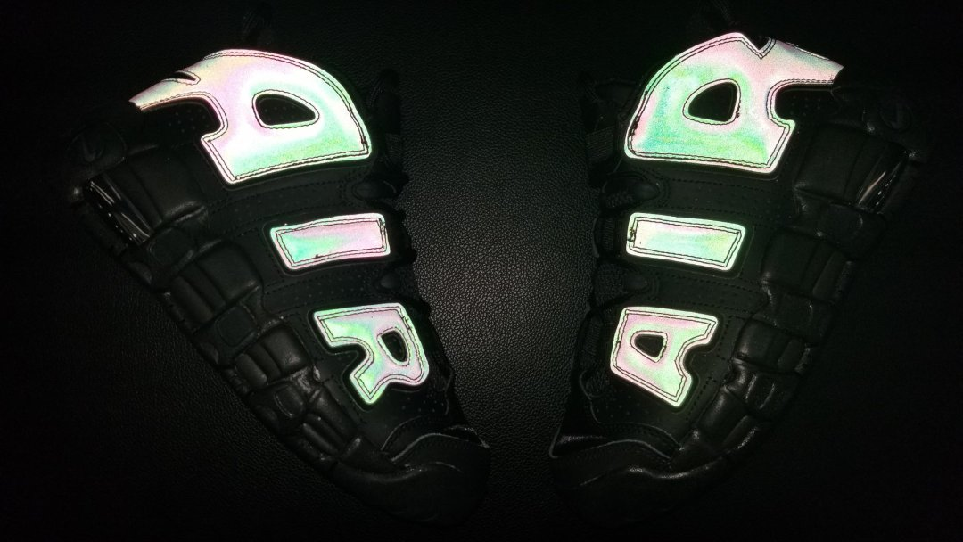 e32ec51d9fc The Nike Air More Uptempo Gets a Reflective and Iridescent Build ...