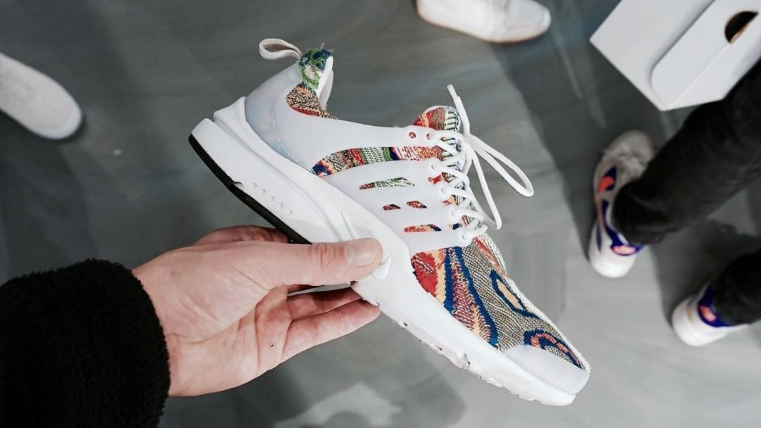 52c041f9102ef5 These Nike Air Presto Coogi Customs are Getting a Wider Release Soon ...