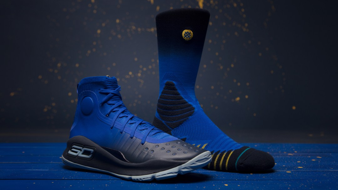 the latest efee2 34202 under armour Stance x Curry 4 Capsule socks 3