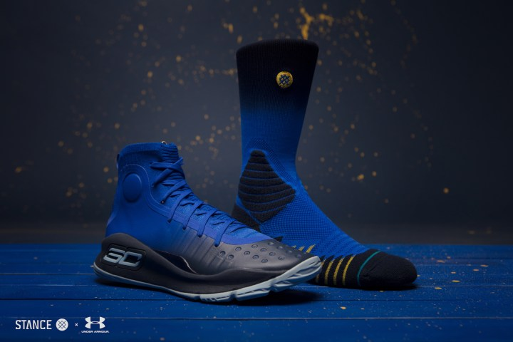 under armour Stance x Curry 4 Capsule socks 3
