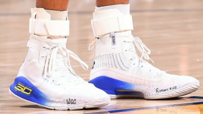 under armour curry 4 home on court