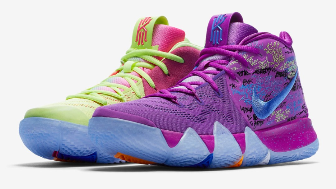 The Nike Kyrie 4 Gets Colorful With This Upcoming Colorway - WearTesters 54139f68b