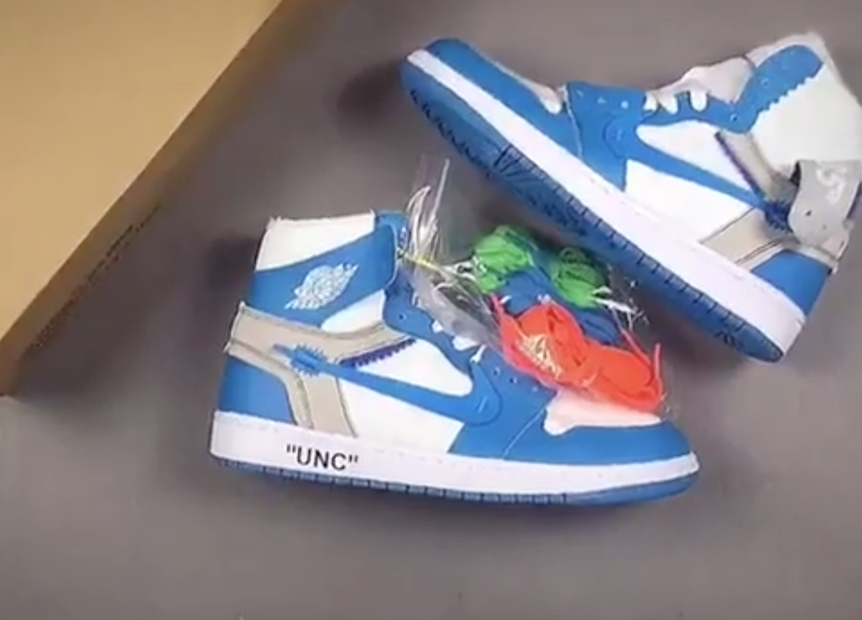 b436513e173f OFF WHITE Air Jordan 1 UNC · Kicks ...