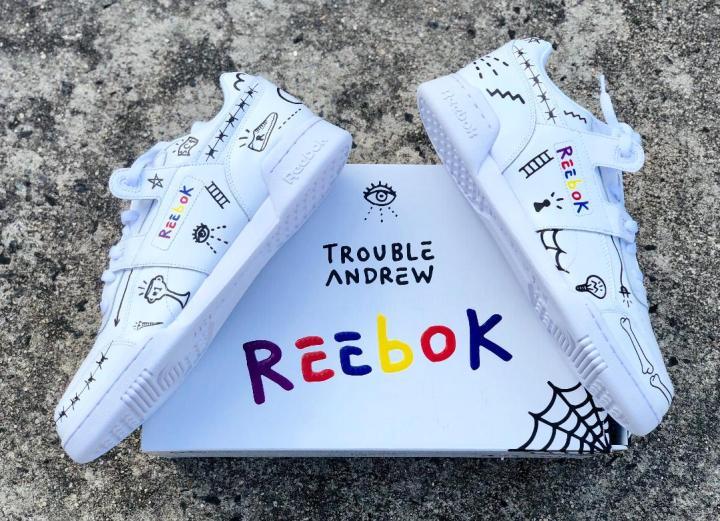 Trevor trouble andrew Reebok workout 3AM 1
