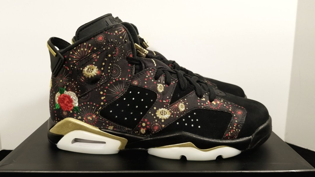 b07b01ba377ee7 A Detailed Look at the Air Jordan 6  Chinese New Year  - WearTesters