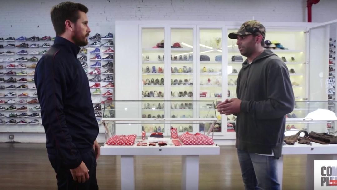 c866b62c6bd2 Scott Disick Goes Sneaker Shopping - Fires Shots at Matt Powell and ...