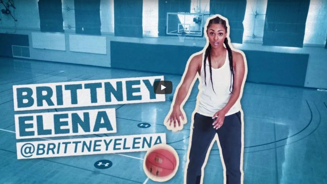 under armour shoot your shot brittney elena