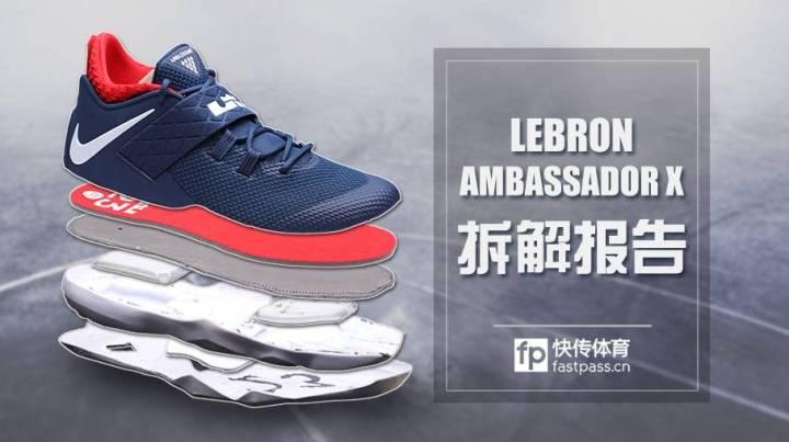 hot sale online 08139 69e1e nike zoom LeBron ambassador 10 deconstructed 1