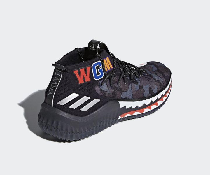adidas dame 4 BAPE official 14