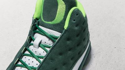 air jordan 13 univeristy of oregon duck friends and family 3