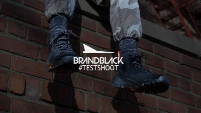 Test Shoot Newline HALO x Vibram x Brandblack BladeRunner Boot