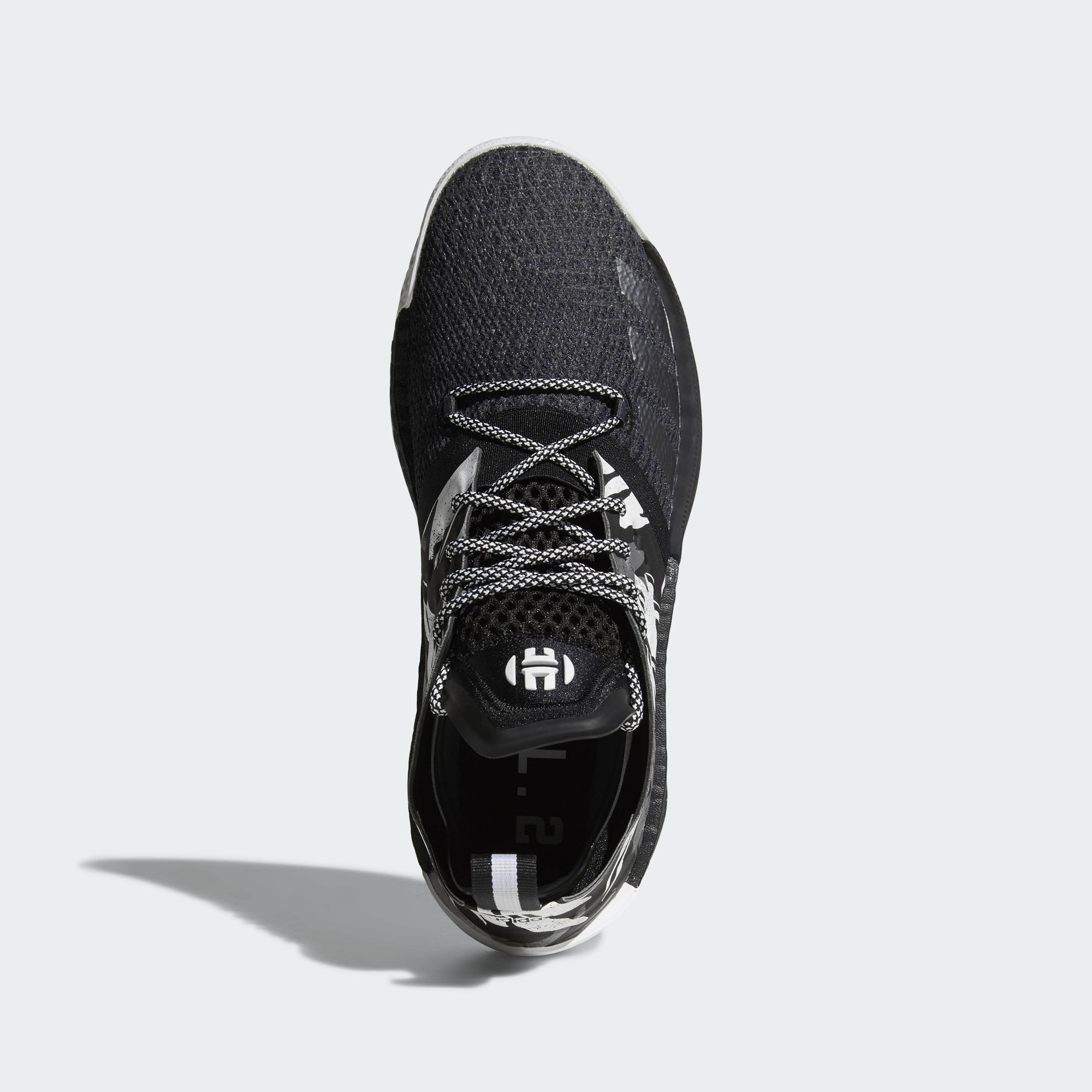 9bcdf51ebdef adidas harden vol 2 black white 4 - WearTesters