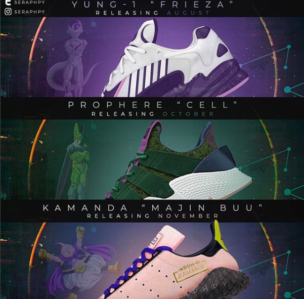 Release Months Have Surfaced for Some of the adidas x Dragon Ball Z Sneakers d9eec6415