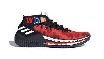 finest selection 6ddbc 52cb4 The adidas Dame 4 BAPE Releases Have an Official Release ...