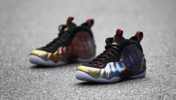 competitive price 7d529 5a693 An On-Foot Look at the Nike Air Foamposite One 'Abalone ...