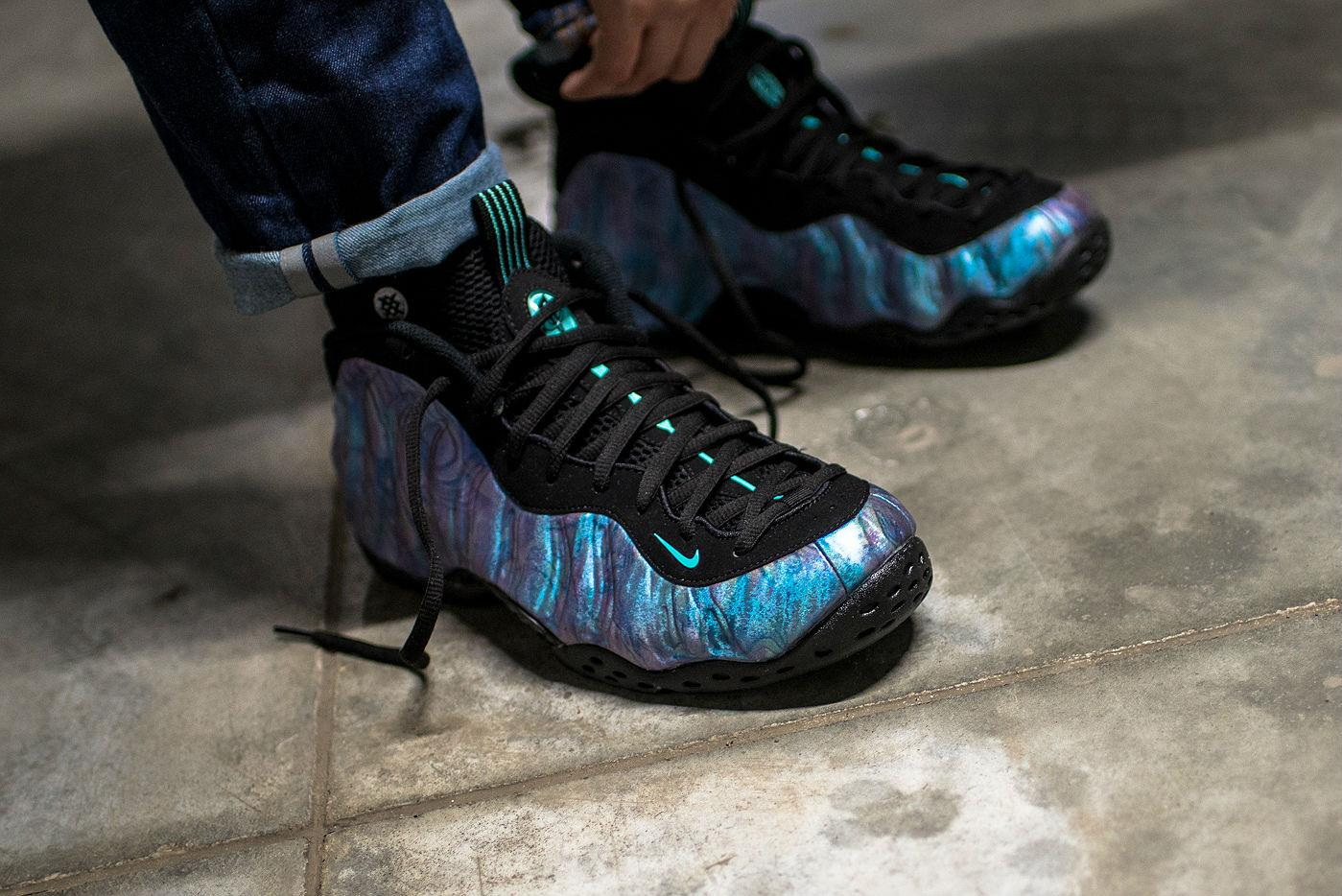 b0ba2a1af333c2 nike air foamposite one abalone 2 - WearTesters