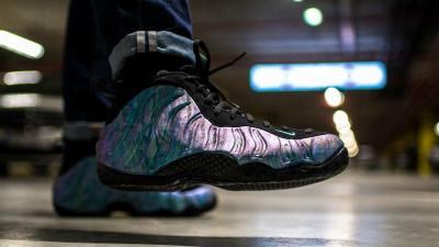 64c3f87b90452 An On-Foot Look at the Nike Air Foamposite One  Abalone