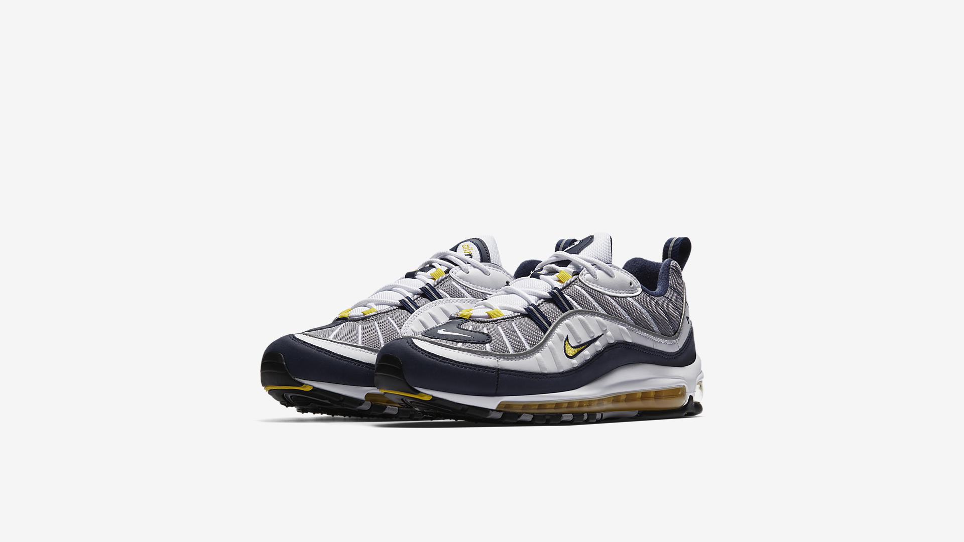 52249c1a2aa2e The Nike Air Max 98  Tour Yellow  Drops Friday - WearTesters