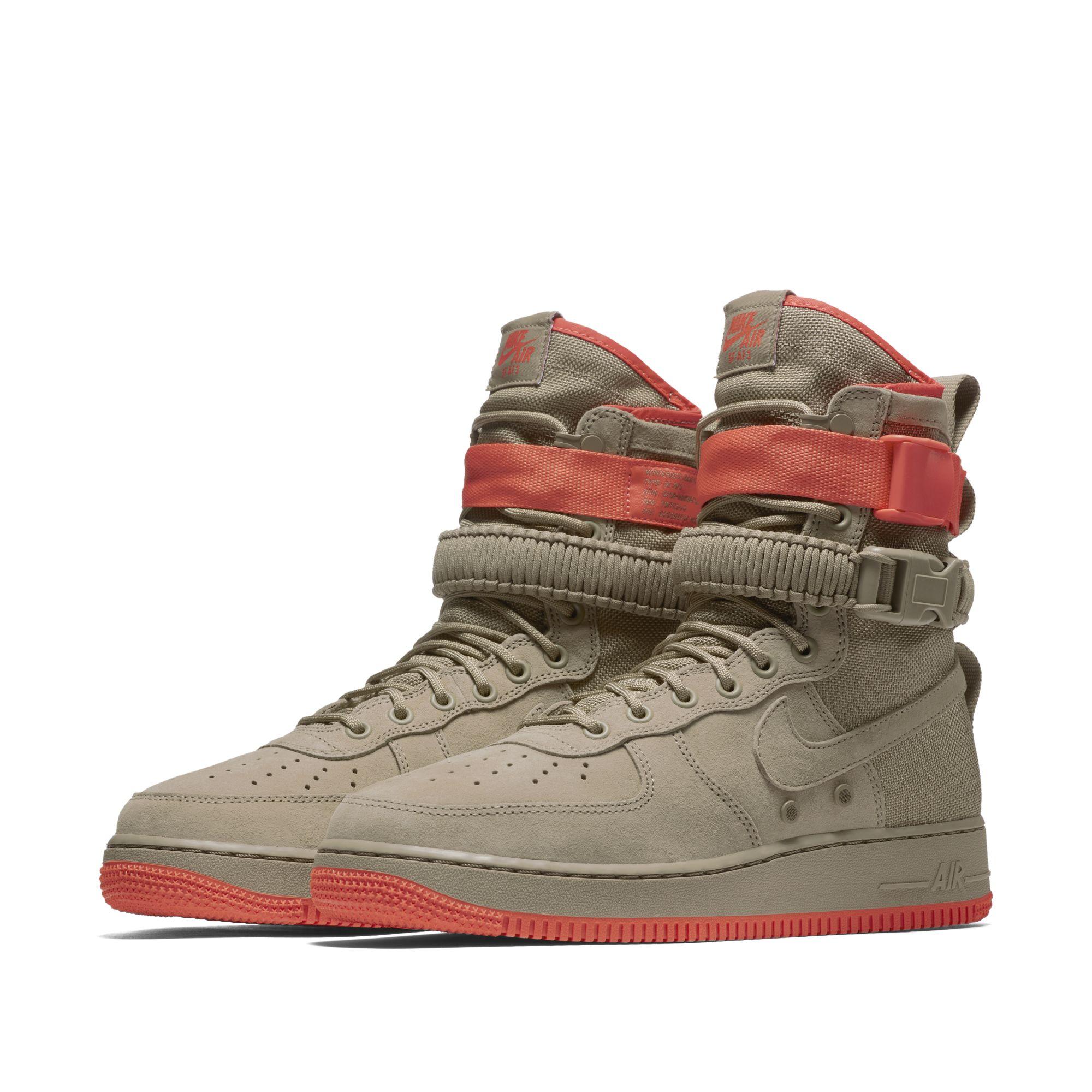 sports shoes 67891 fe368 nike sf af1 orange 1 · Kicks Off Court / Nike ...