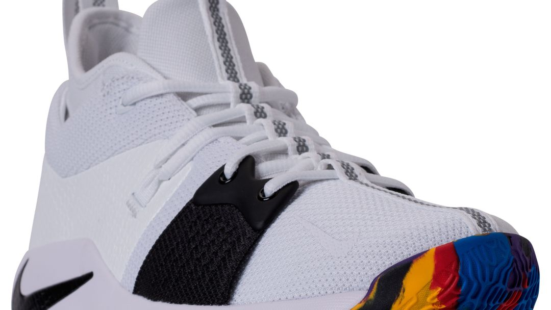 d7ff08feb23 Official Look at the Nike PG 2  White Multi  for March Madness ...