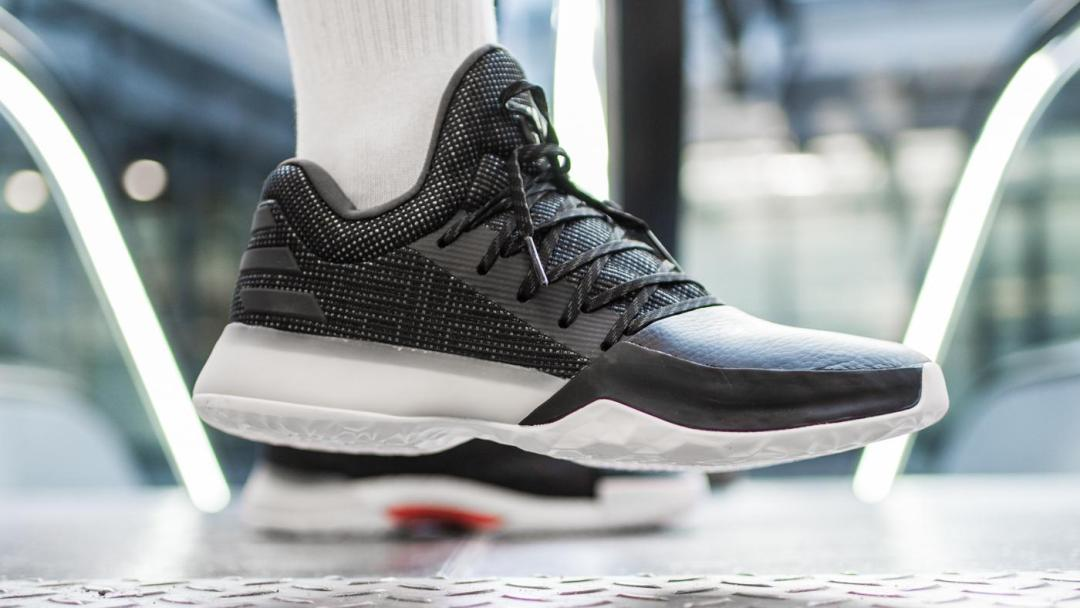 88141aac524 On-Foot Look at the adidas Harden Vol 1  Black Diamond  - WearTesters