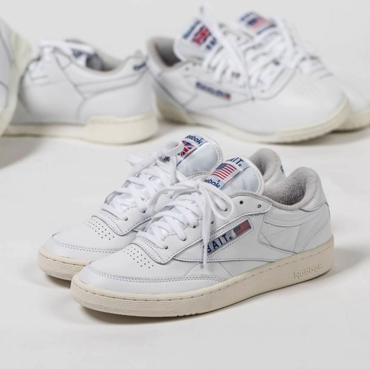 bait reebok club c west east pack