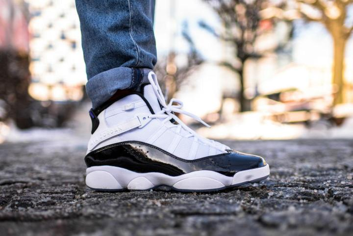 2c45d7b96bb4 An On-Foot Look at the Jordan 6 Rings  Concord  - WearTesters