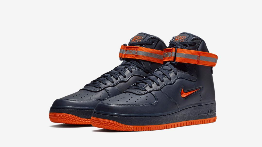078b4dad6518 Nike Unveils Special Edition Air Force 1 Pack for NYC in Knicks ...
