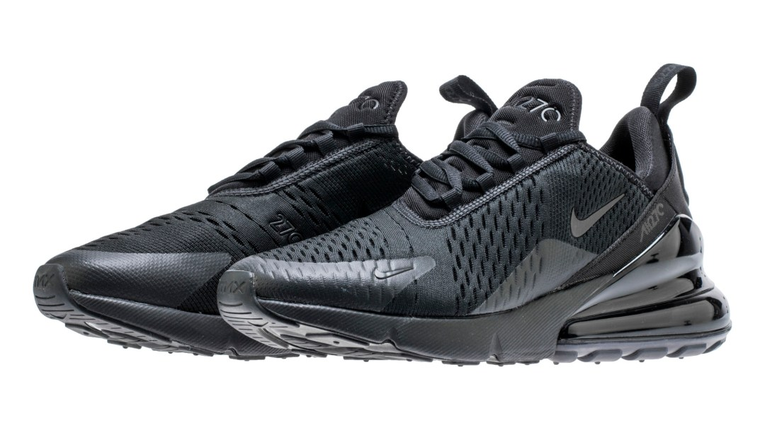 The Nike Air Max 270  Triple Black  is Coming Next Month - WearTesters b746f981d0271