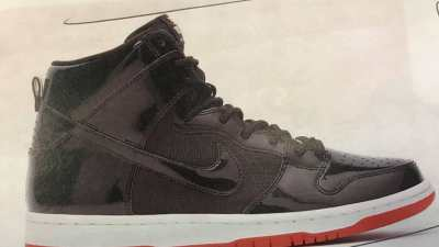 3d001d4b2b1f A  Bred  Air Jordan 11-Inspired Nike SB Dunk High is in the Works
