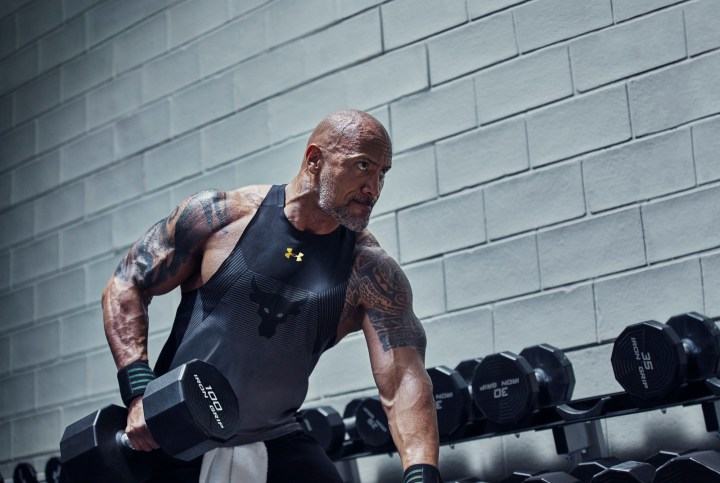 Dwayne Johnson project rock delta chase greatness collection 4