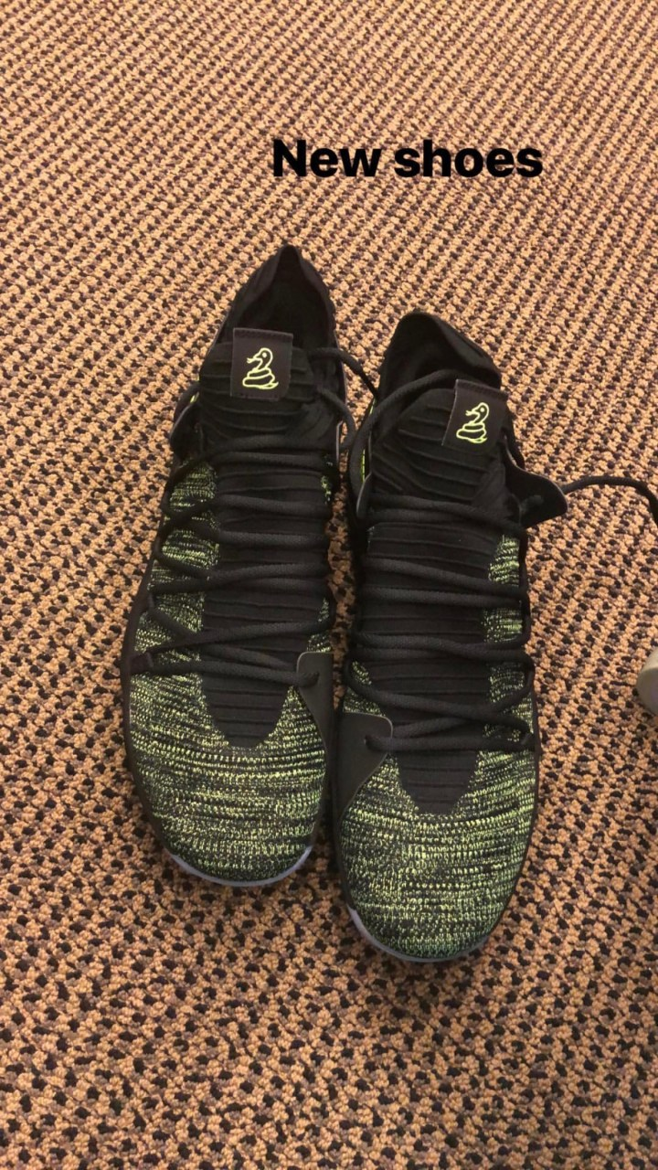 3bf2198a26bf Kevin Durant Embraces the Hate with New Nike KD 10 PE - WearTesters