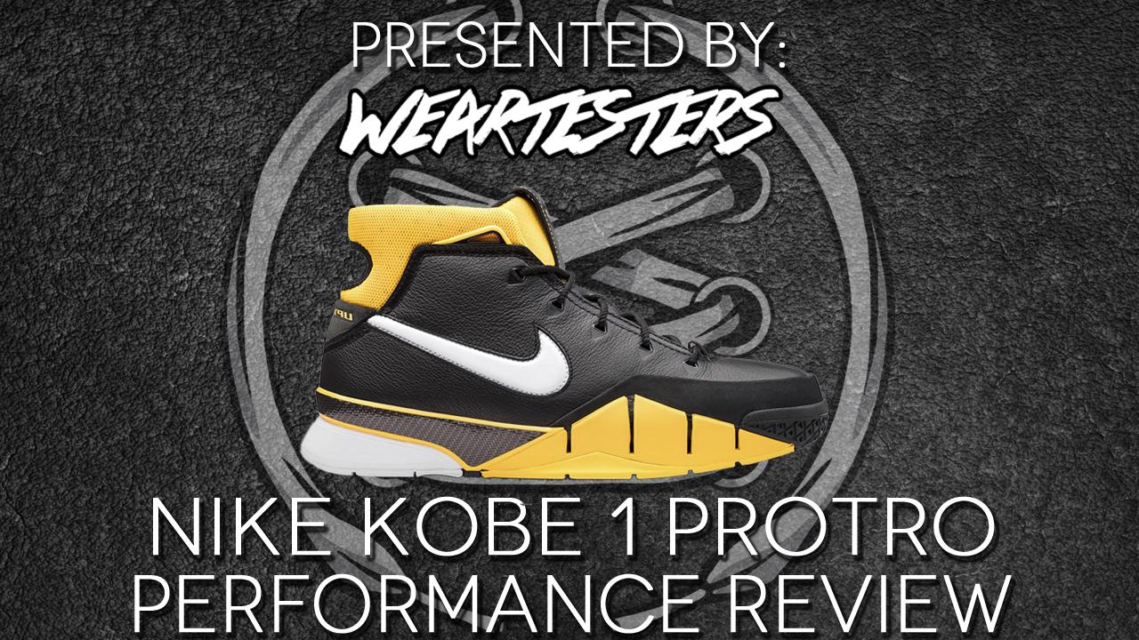 7bad4979202 Nike Zoom Kobe 1 Protro Performance Review Duke4005. Mar27