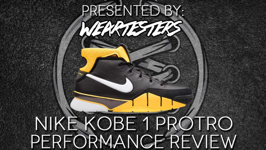 online store f0a11 e91b8 Nike Zoom Kobe 1 Protro Performance Review Duke4005
