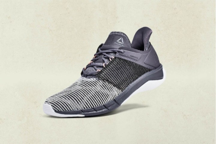 "824774a09d7 Reebok unveiled several different applications of Flexweave with its ""Woven  Into the Future"" collaborations in January."