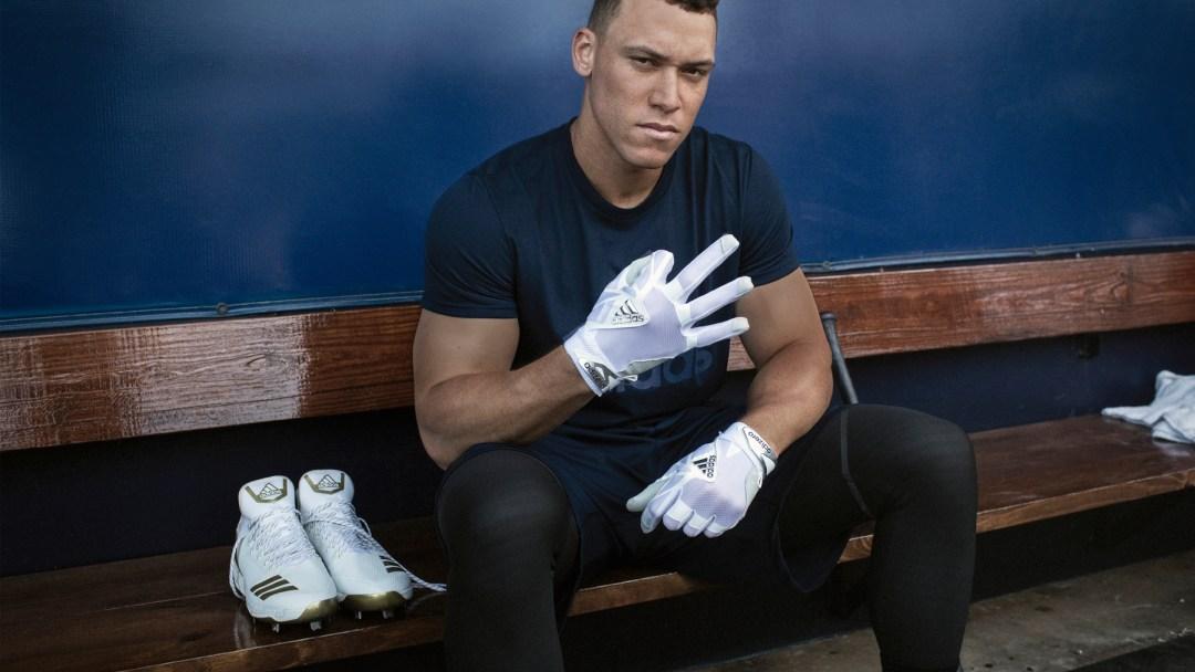 Aaron Judge Inks Deal with adidas - WearTesters 281d2ee363aa