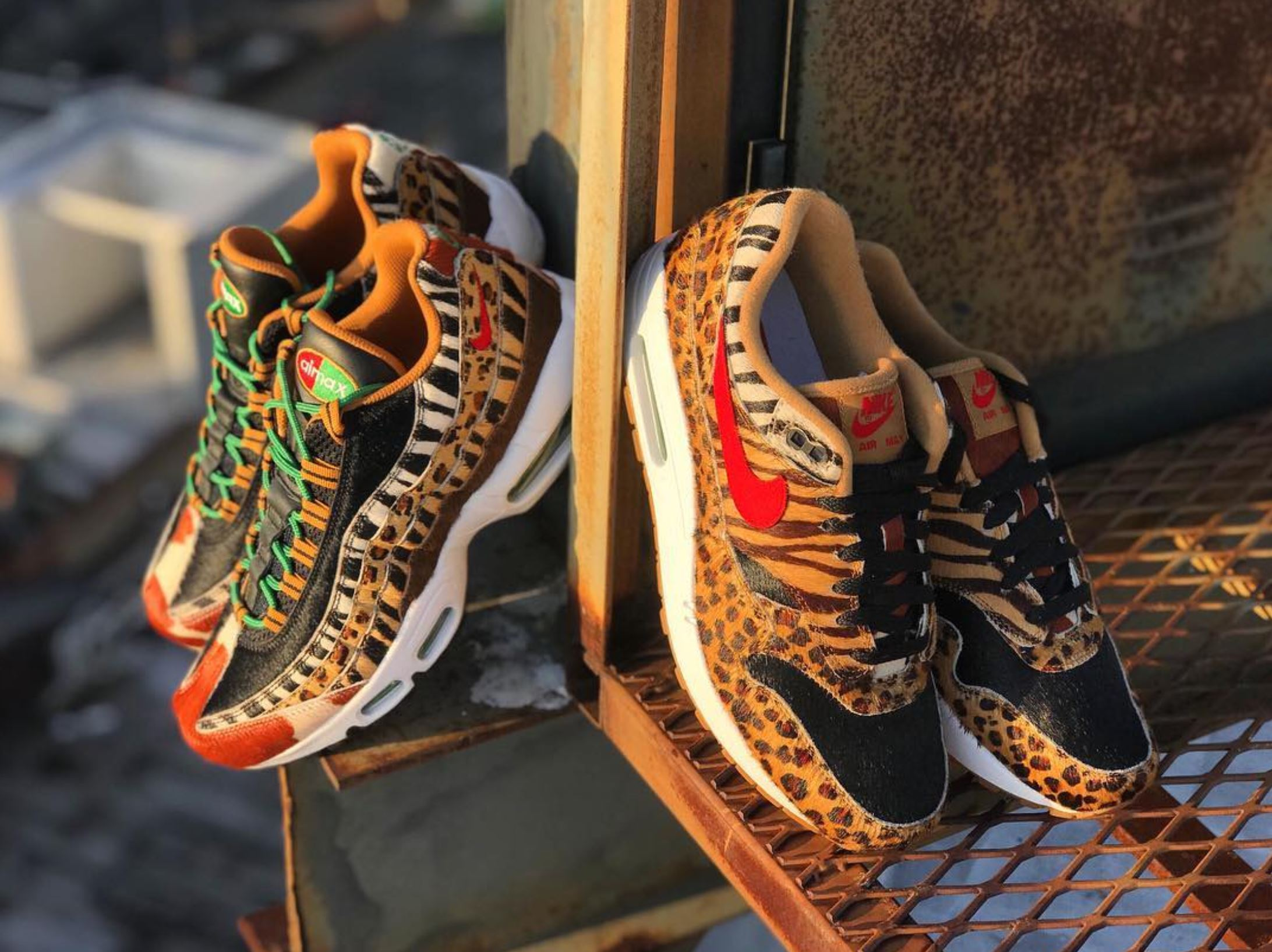 detailed look 16692 1a9d0 ... a very special Air Max 1. atmos animal 2.0 pack 1 · Kicks Off Court    Nike ...